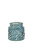 Cholet Lantern Candle Holder - Blue