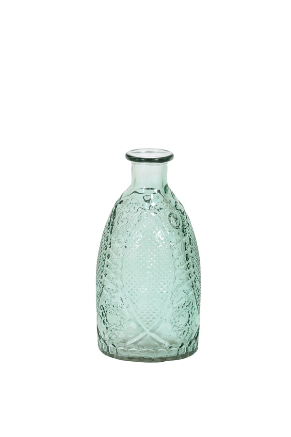Light Green Lanai Sun Pattern Vase