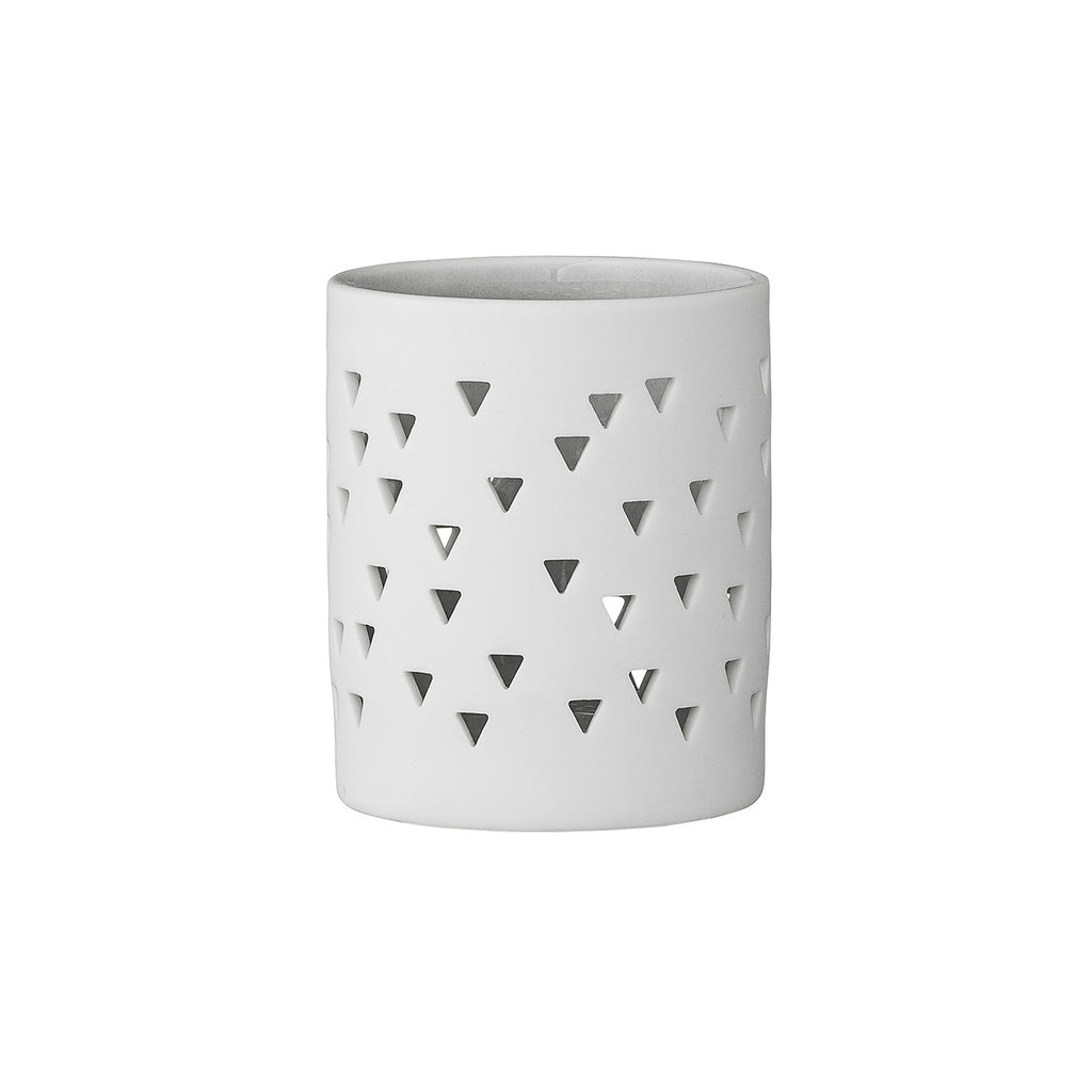 Triangle Cutout Tealight Holder
