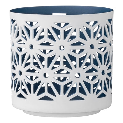 Navy Cut Out Votive