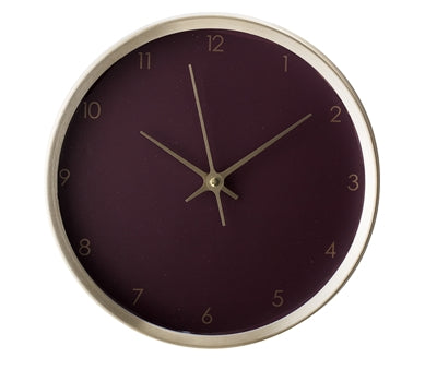 Bloomingville Wall Clock Gold
