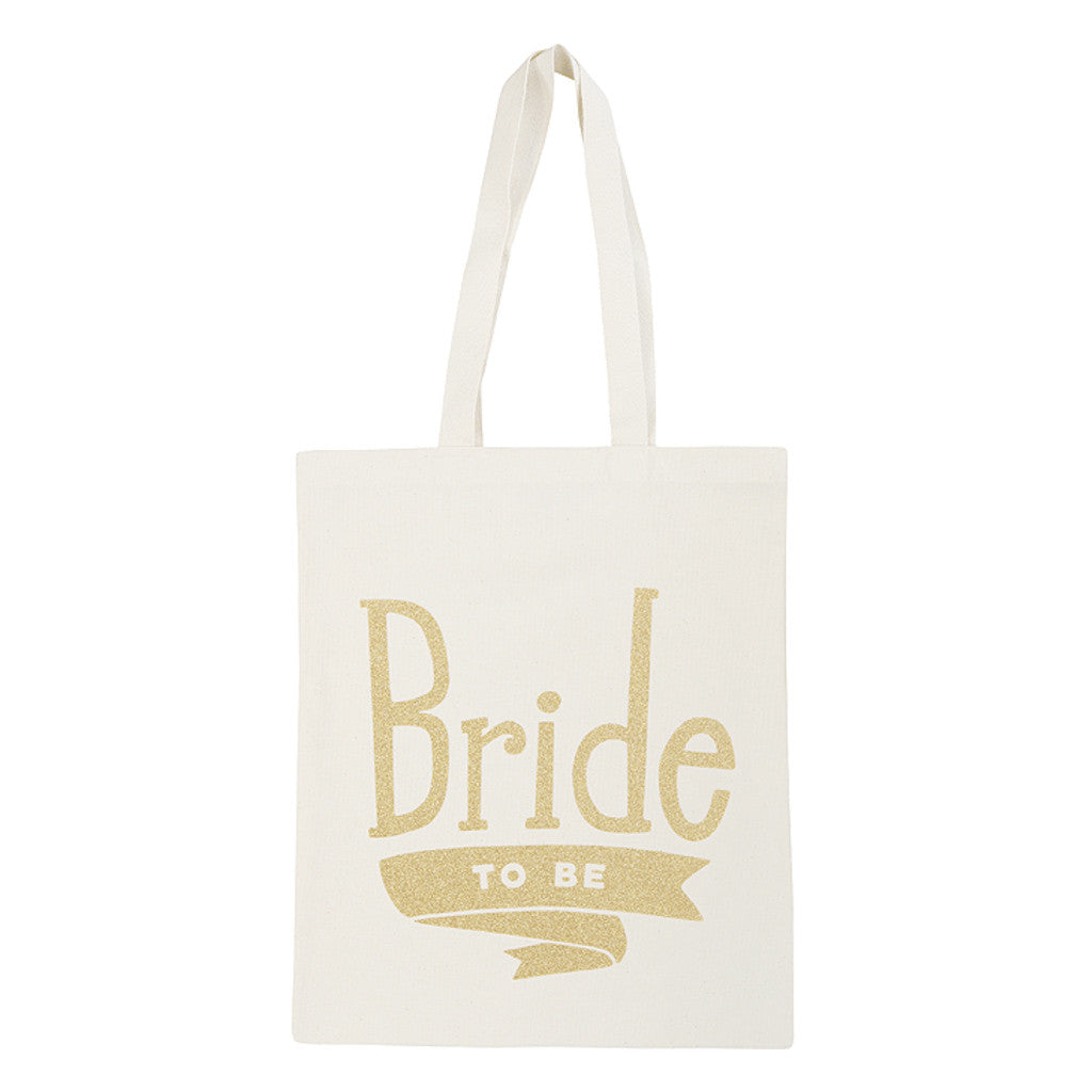bride bag gold glitter canvas accessories