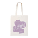 bridesmaid canvas bag lavender accessories