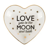 Love You To The Moon And Back Jewellery Dish