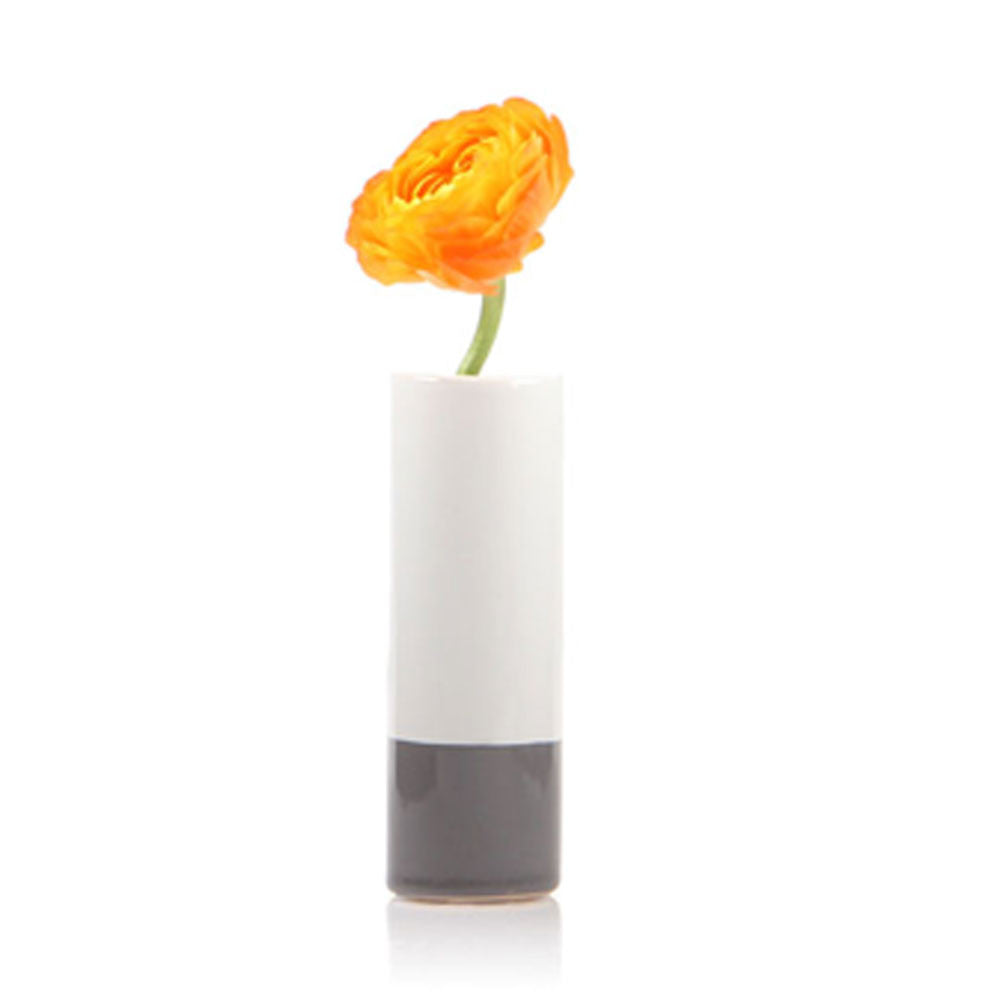 crayon vase grey homeware