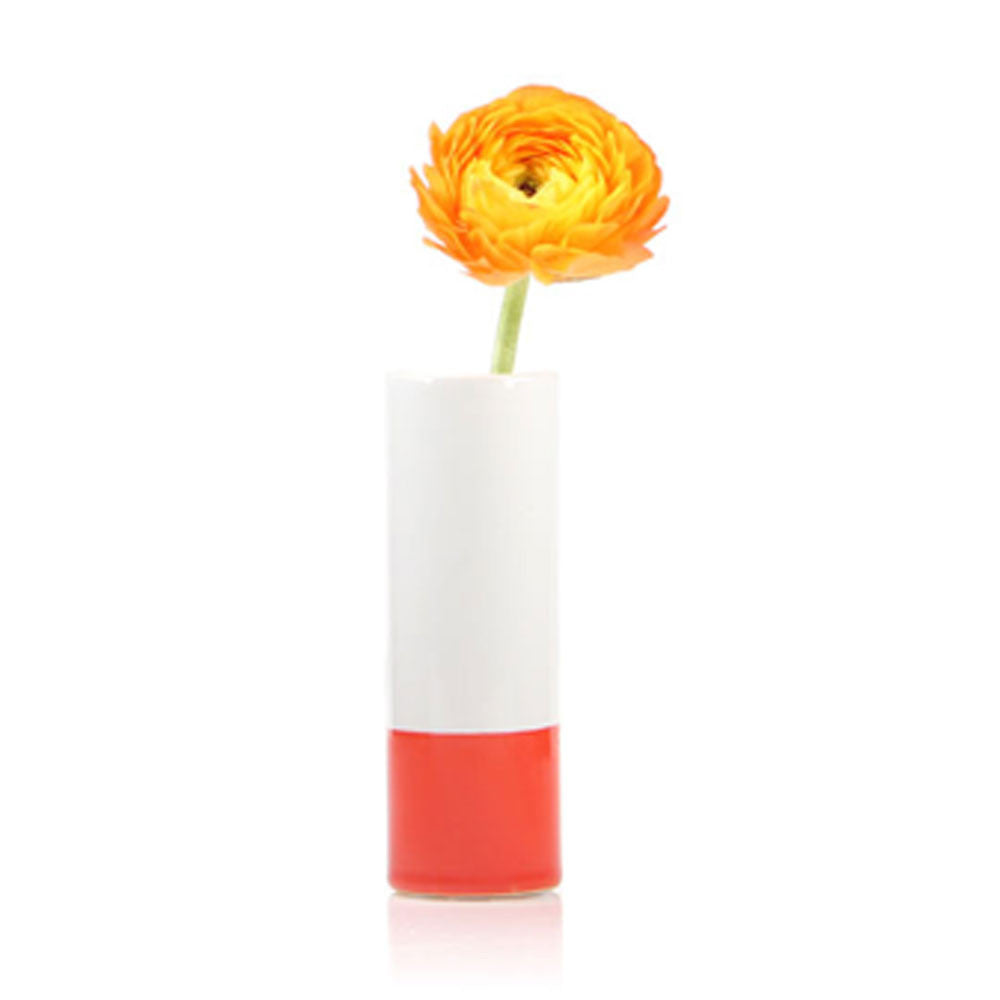 crayon vase orange homeware