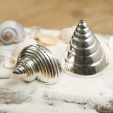 conch and cone salt and pepper set tableware