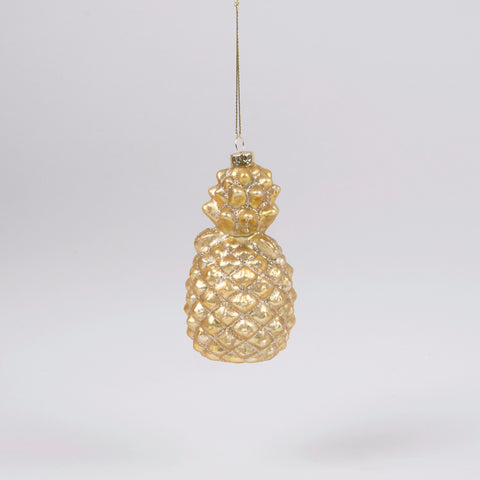 Glitzy Pineapple Bauble