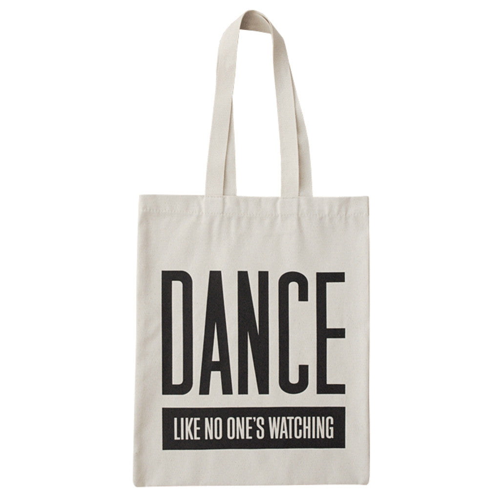 dance canvas bag accessories
