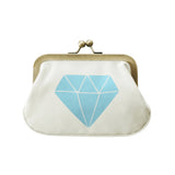blue gem coin purse accessories
