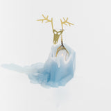 Deer Pyro Pet Dyri Candle Blue