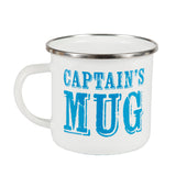 Captains Mug Enamel Mug