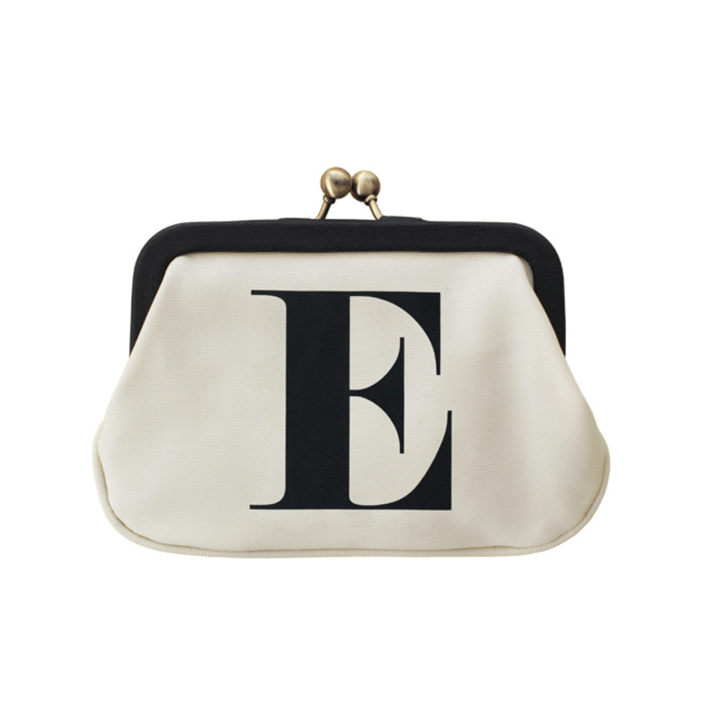 letter E coin purse accessories