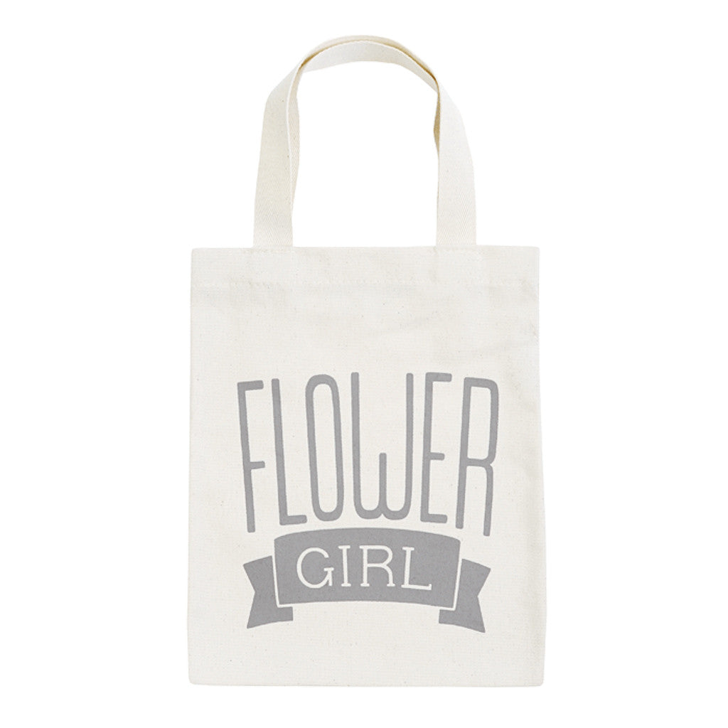 flower girl grey mini bag canvas accessories