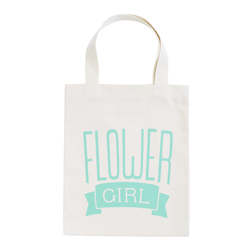 flower girl mint mini bag canvas accessories