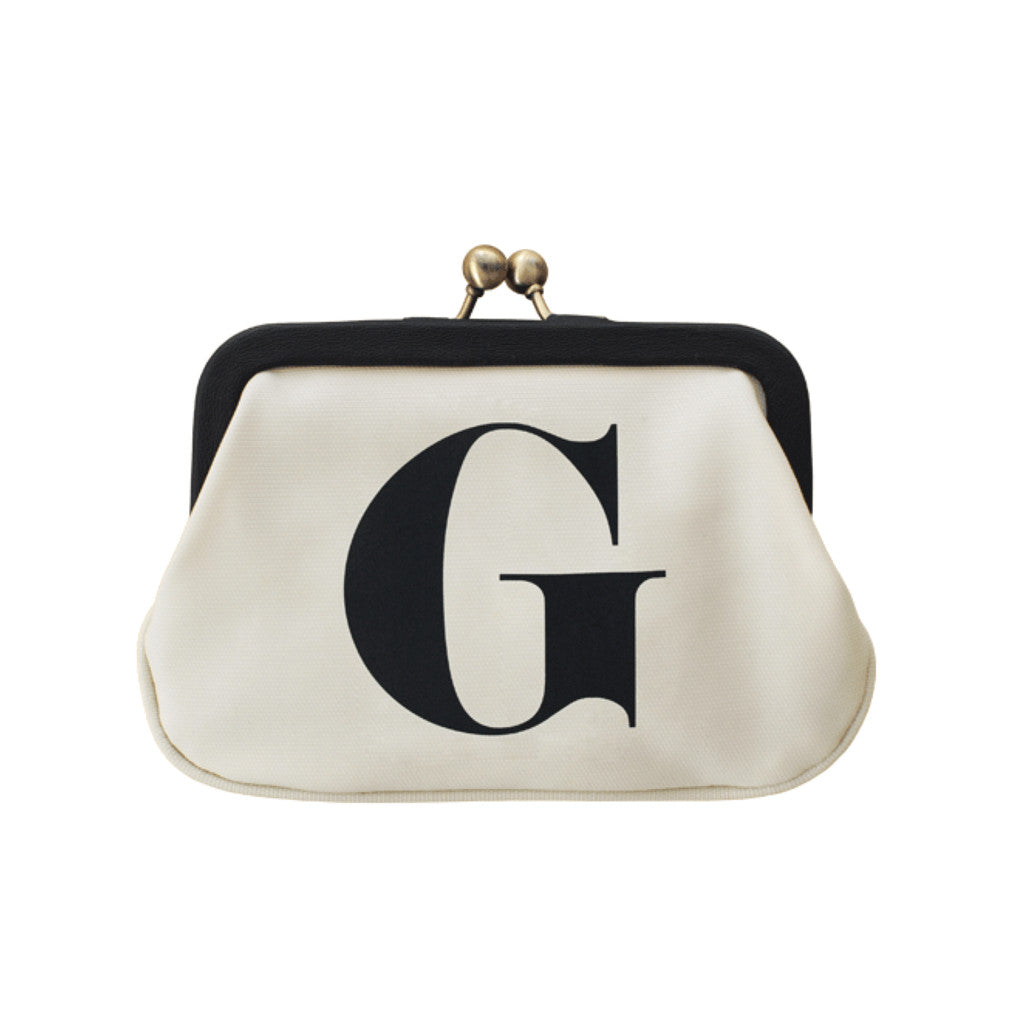 letter G coin purse accessories