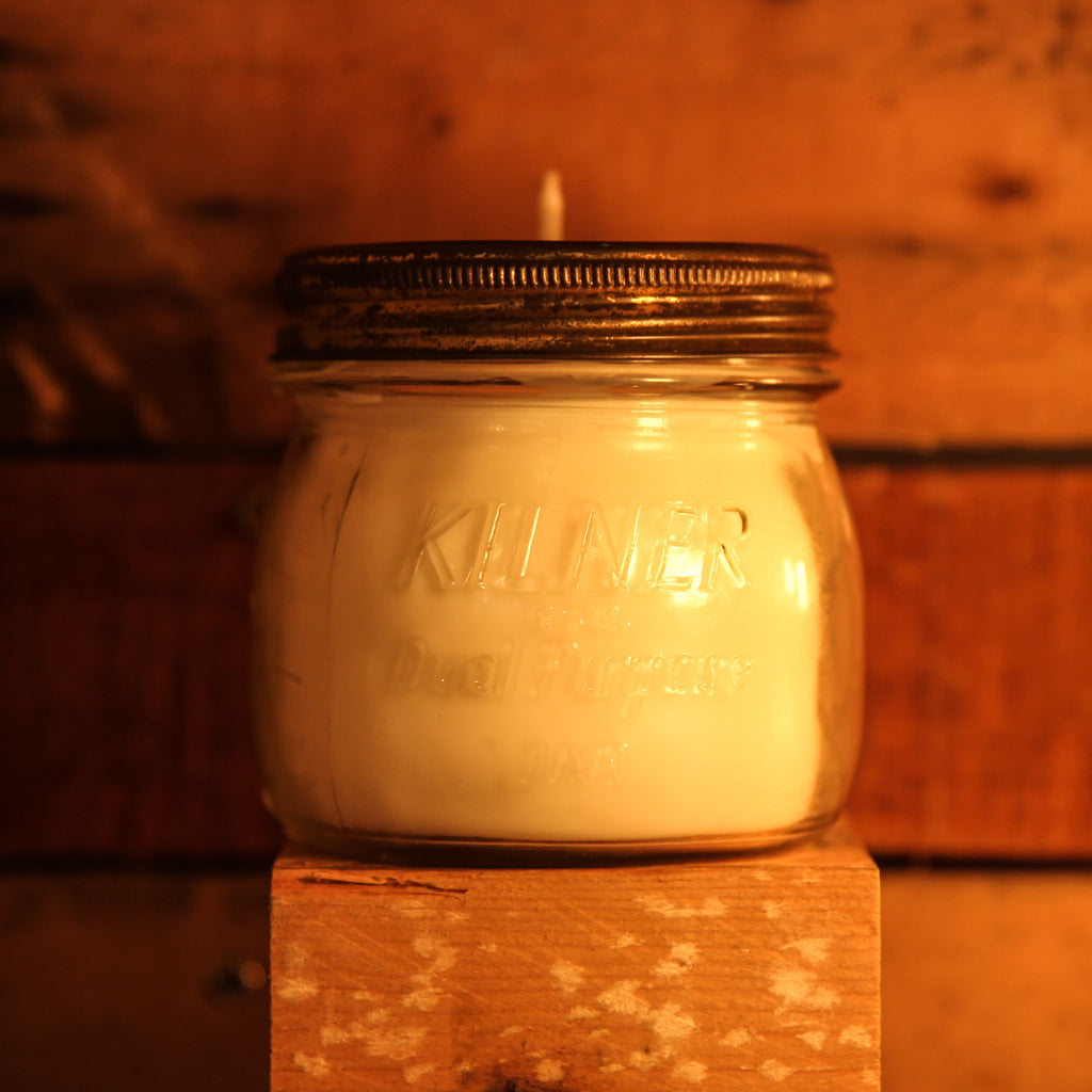homemade kilner candle small (various scents)