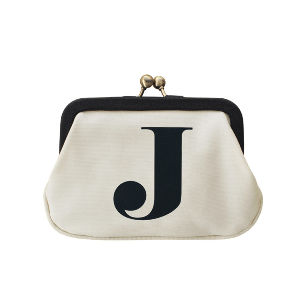 letter J coin purse accessories