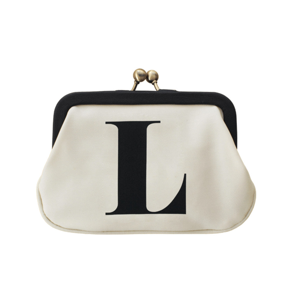 letter L coin purse accessories