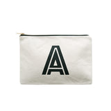 large letter pouch A canvas accessories