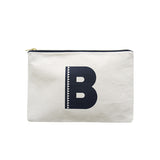 large letter pouch B canvas accessories