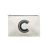large letter pouch C canvas accessories
