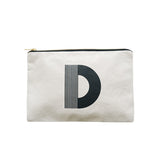 large letter pouch D canvas accessories