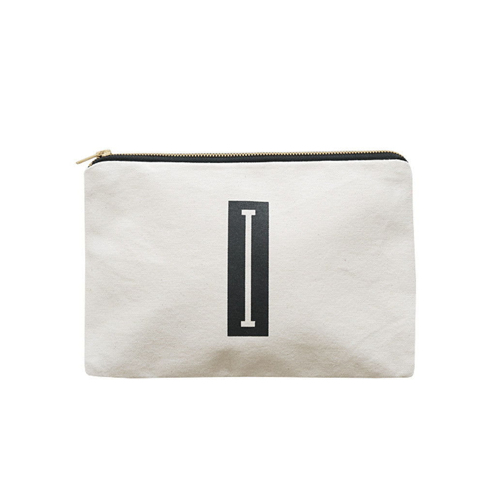 large letter pouch I canvas accessories