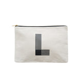 large letter pouch L canvas accessories