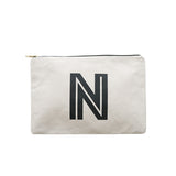 large letter pouch N canvas accessories