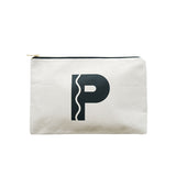 large letter pouch P canvas accessories