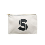 large letter pouch S canvas accessories