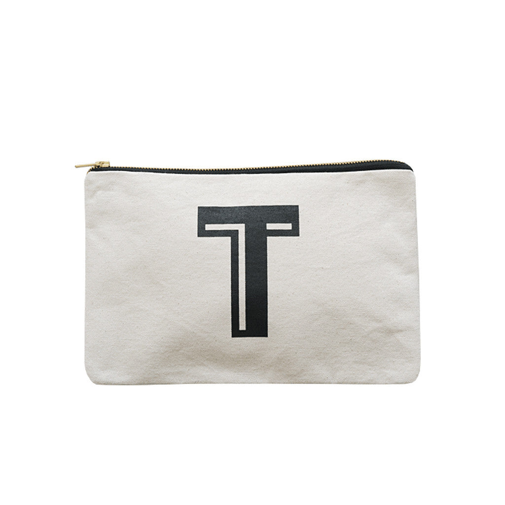 large letter pouch T canvas accessories