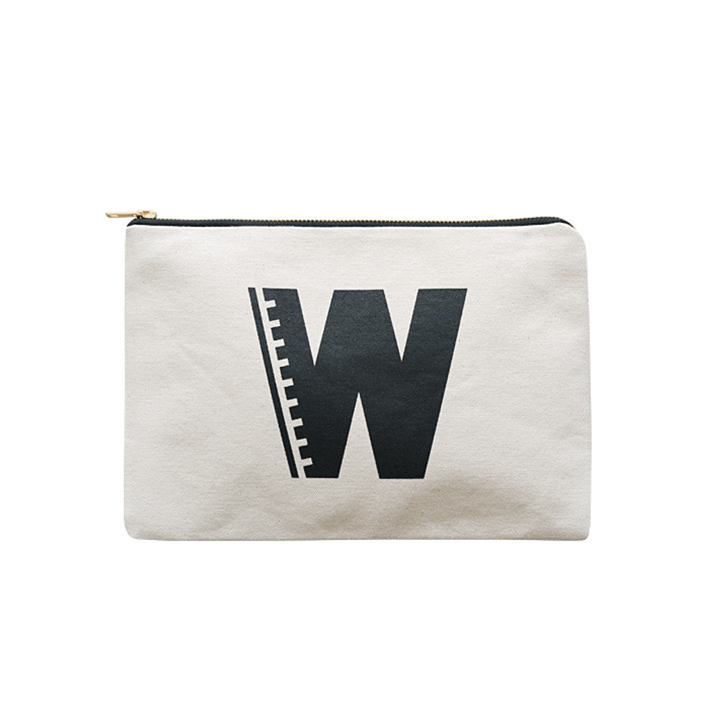 large letter pouch W canvas accessories
