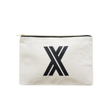 large letter pouch X canvas accessories