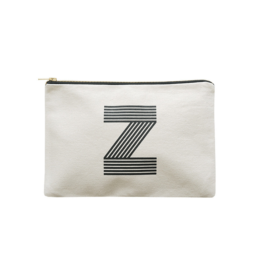 large letter pouch Z canvas accessories