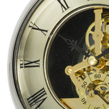 Wall Clock - Glass & Nickel
