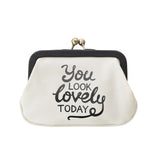 you look lovely today coin purse accessories