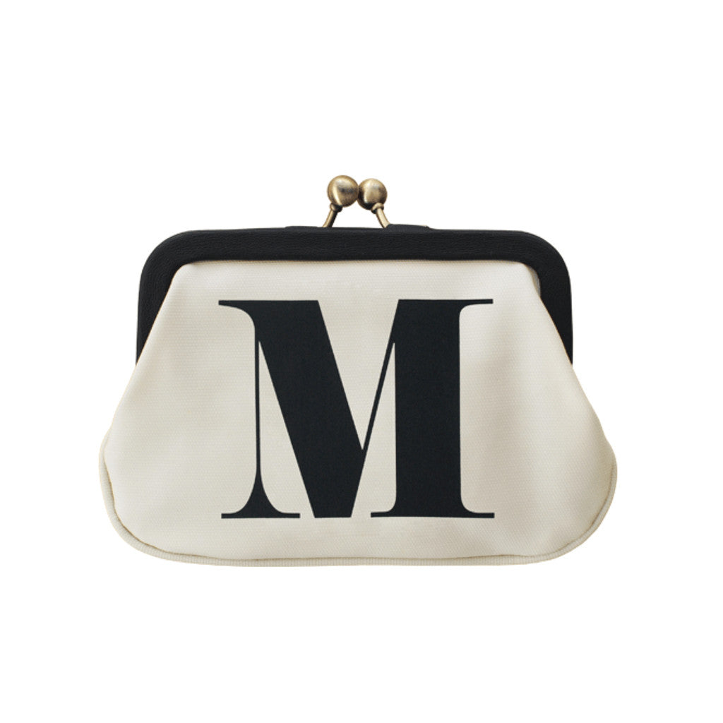 letter M coin purse accessories