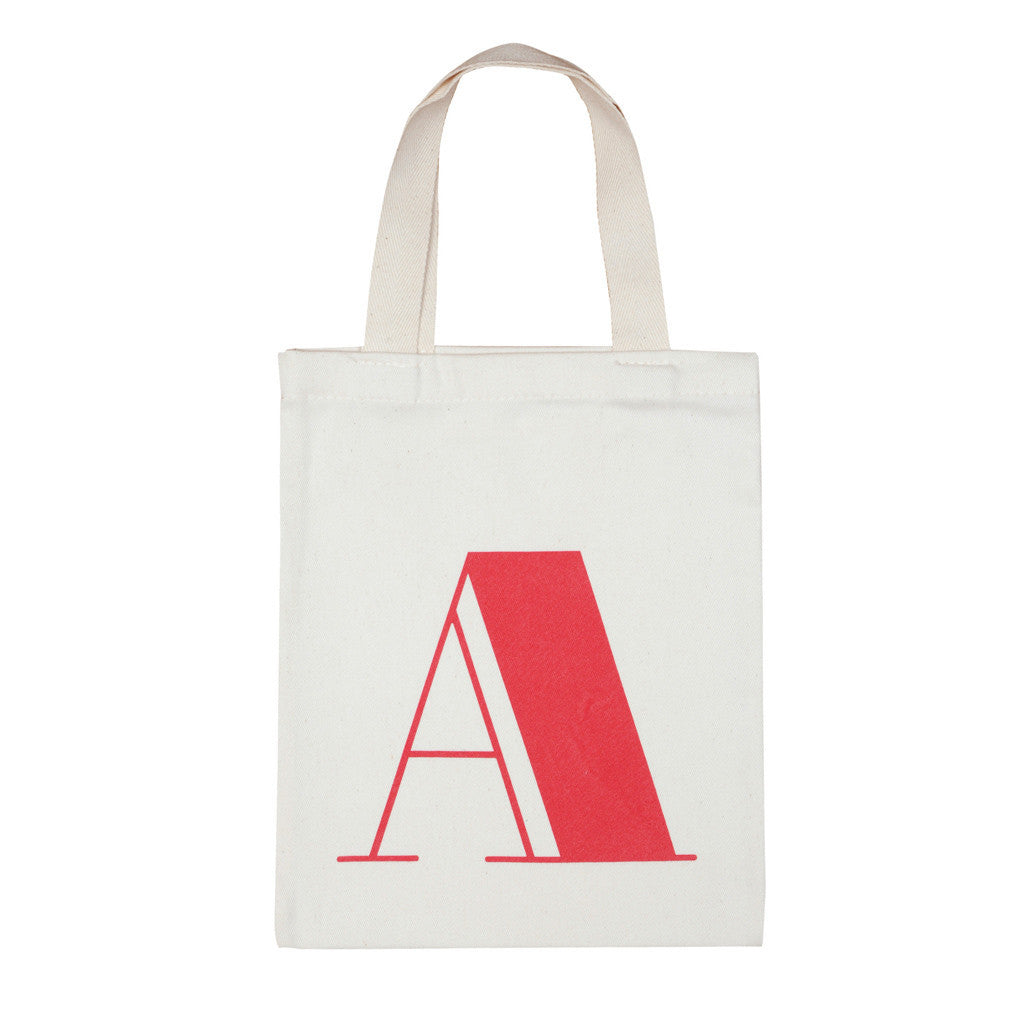 letter A mini bag red accessories