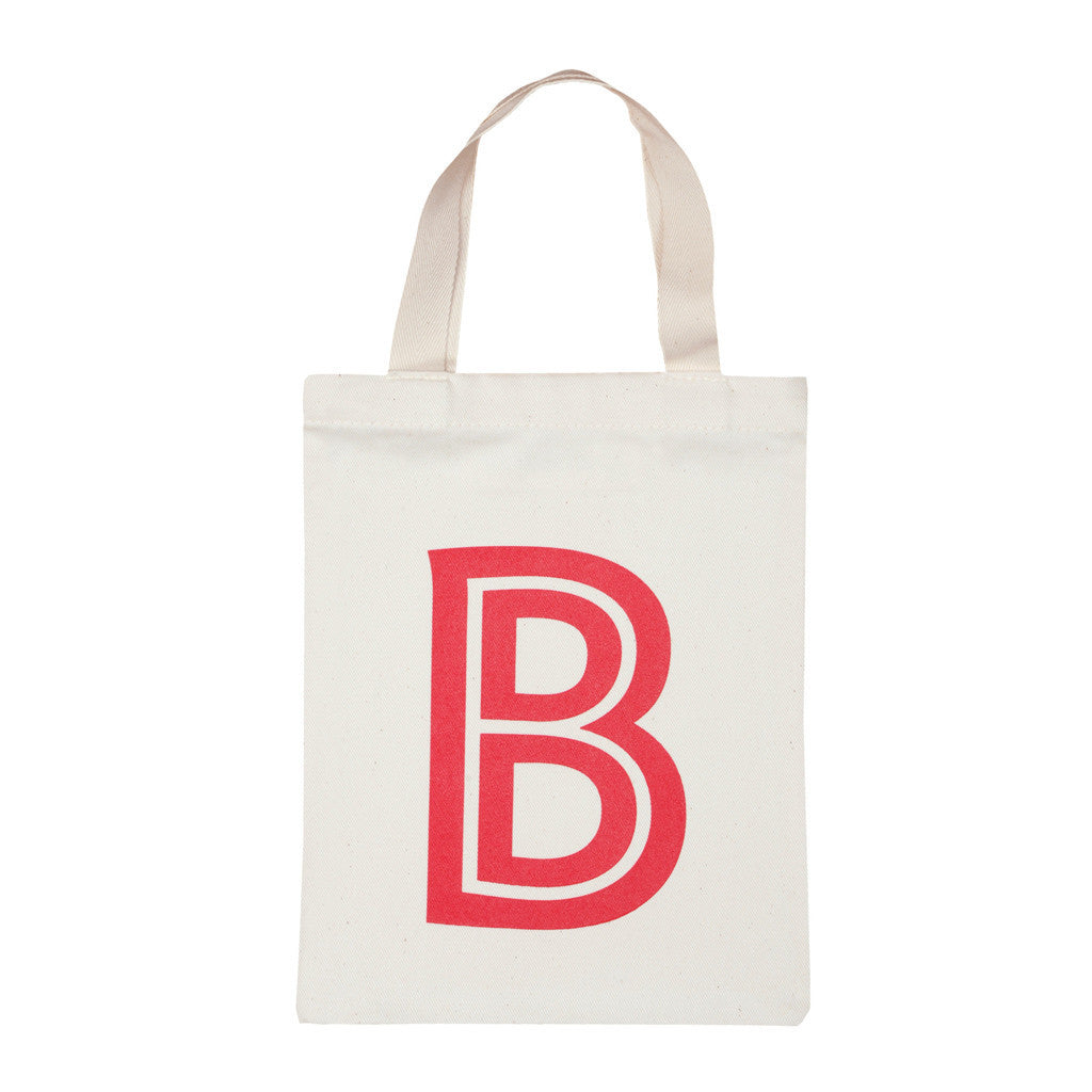 letter B mini bag red accessories