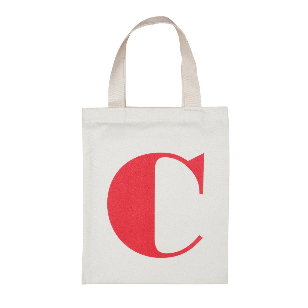 letter C mini bag red accessories