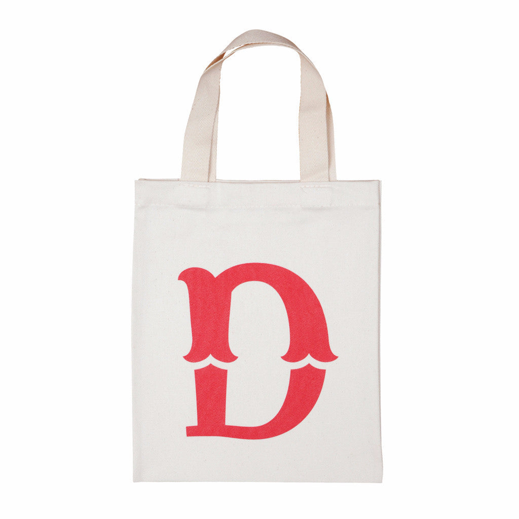 letter D mini bag red accessories