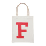 letter F mini bag red accessories