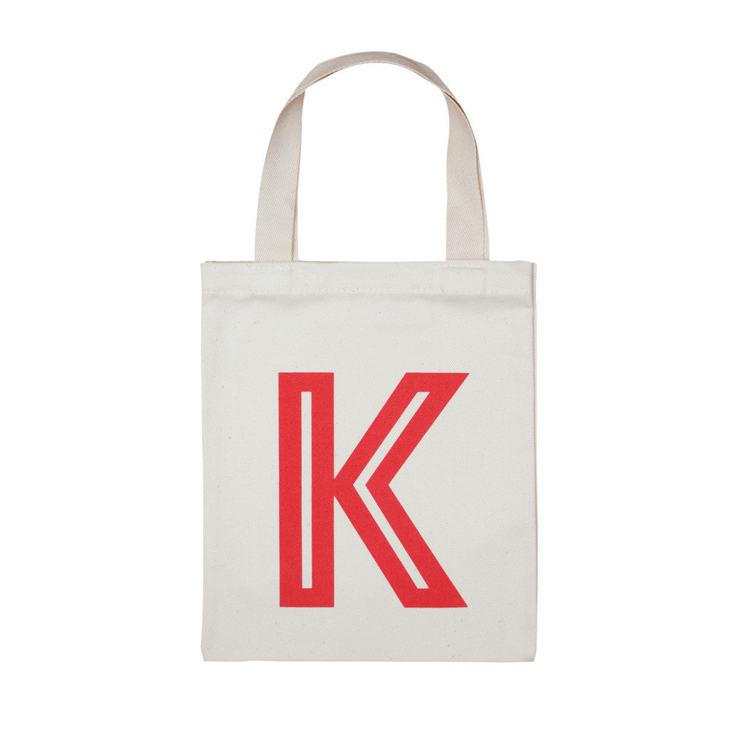 letter K mini bag red accessories