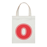 letter O mini bag red accessories