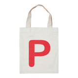 letter P mini bag red accessories