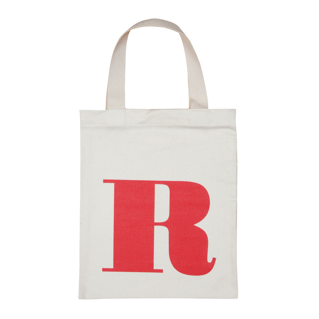 letter R mini bag red accessories