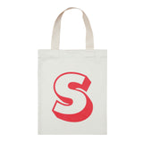 letter S mini bag red accessories