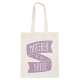 mother of the bride canvas bag lavender accessories
